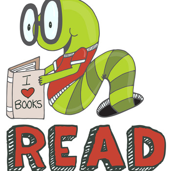 Free: School Rules, Coperative Classroom Clip Art, Book Worm, Encouragement.