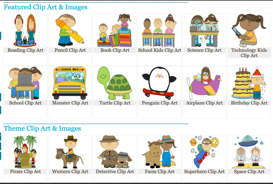3 Handy Resources of Clip Arts to Use for End of School Year.