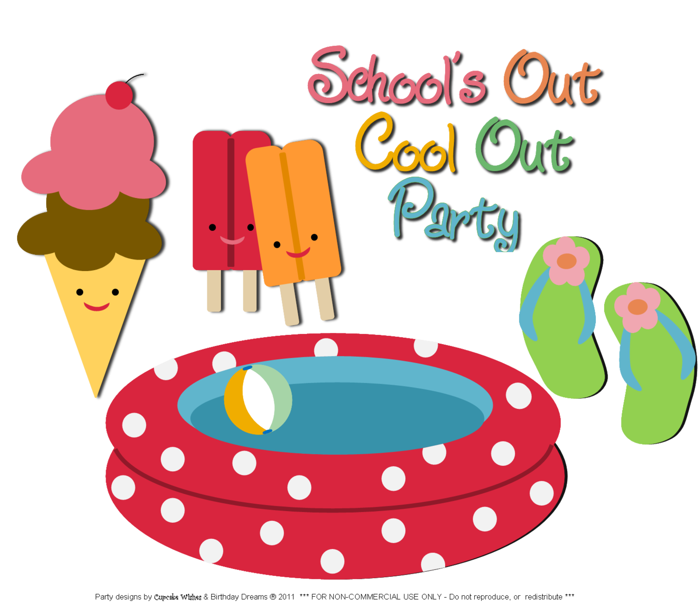 Free Clipart End Of School Year.