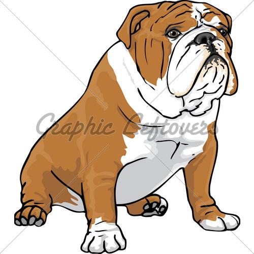 English Bulldog Clipart Free.