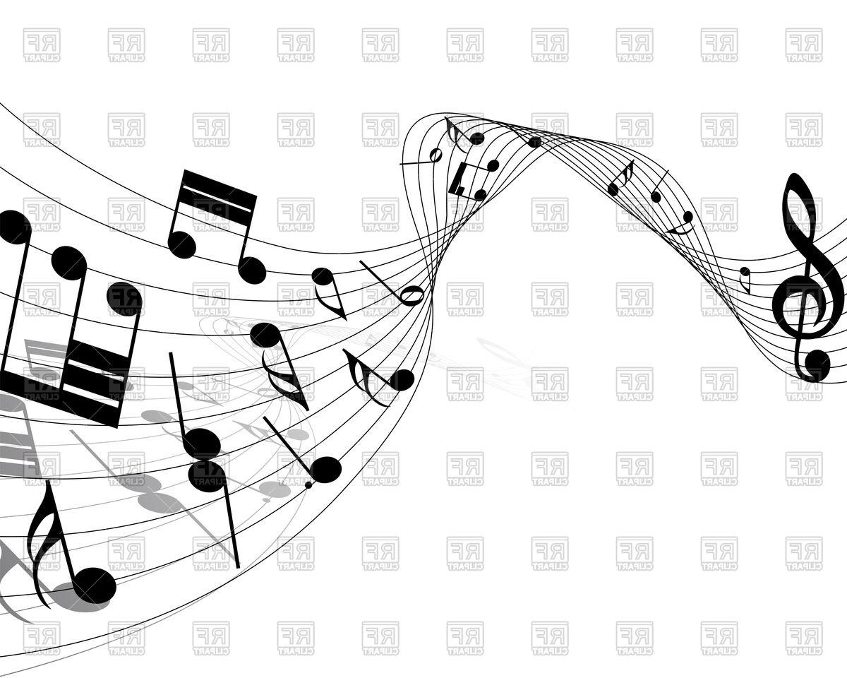 HD Music Notes Eps Vector Pictures » Free Vector Art, Images.
