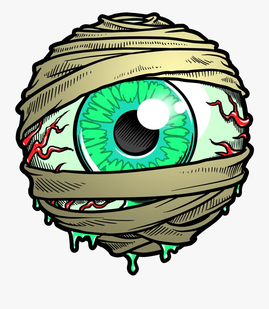Eyeball Clipart Mummy.