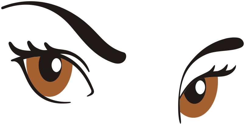 Free Eyebrow Clipart.