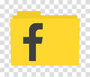 Facebook , Facebook filename folder icon transparent background PNG.
