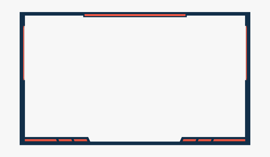 Facecam Border Png Overlay.