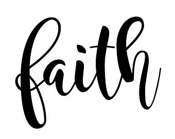 Faith clipart word, Faith word Transparent FREE for download.