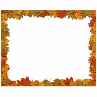 Fall Clipart Transparent Background.