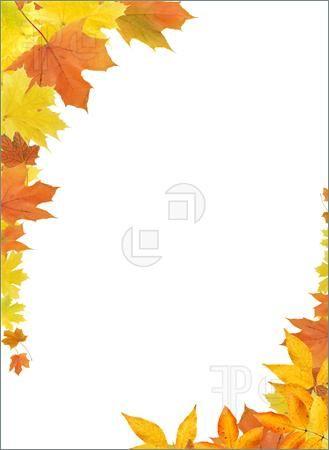 autumn border clip art.