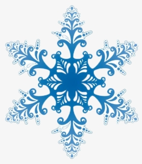 Free Falling Snowflake Clip Art with No Background.