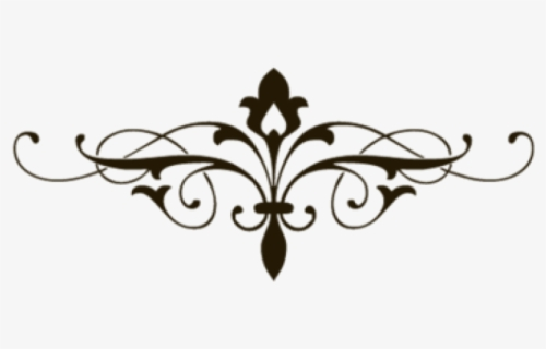Free Fancy Scroll Clip Art with No Background.