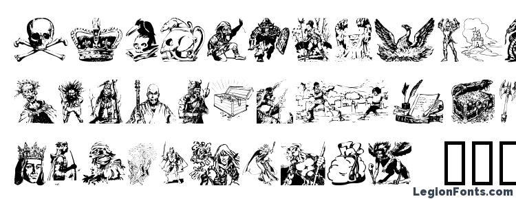 Fantasy clipart Font Download Free / LegionFonts.