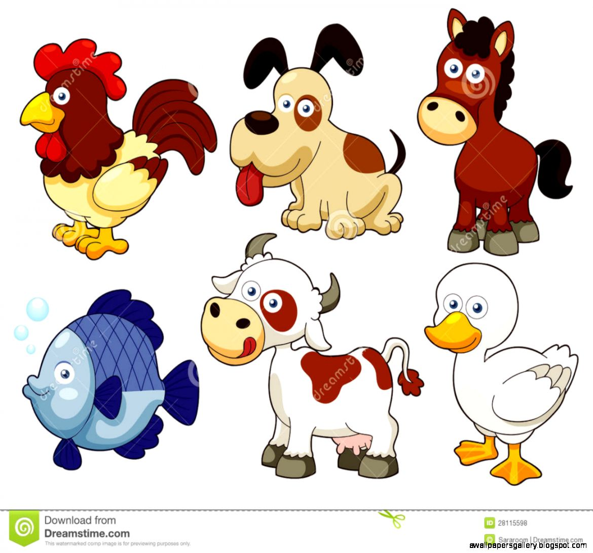 free farm animal babies clipart 20 free Cliparts ...
