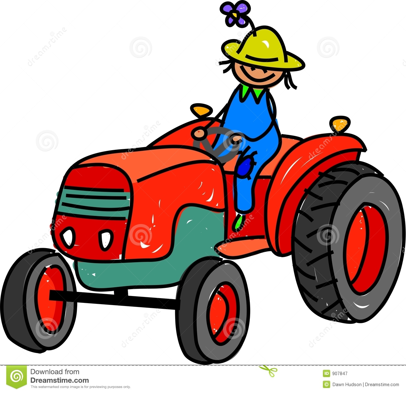 Farm Tractor Clipart at GetDrawings.com.