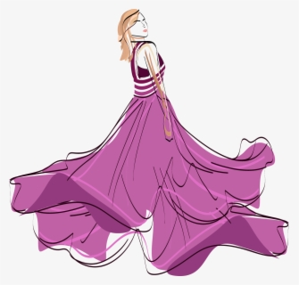 Free Fashion Show Clip Art with No Background.