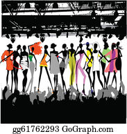 Fashion Show Clip Art.