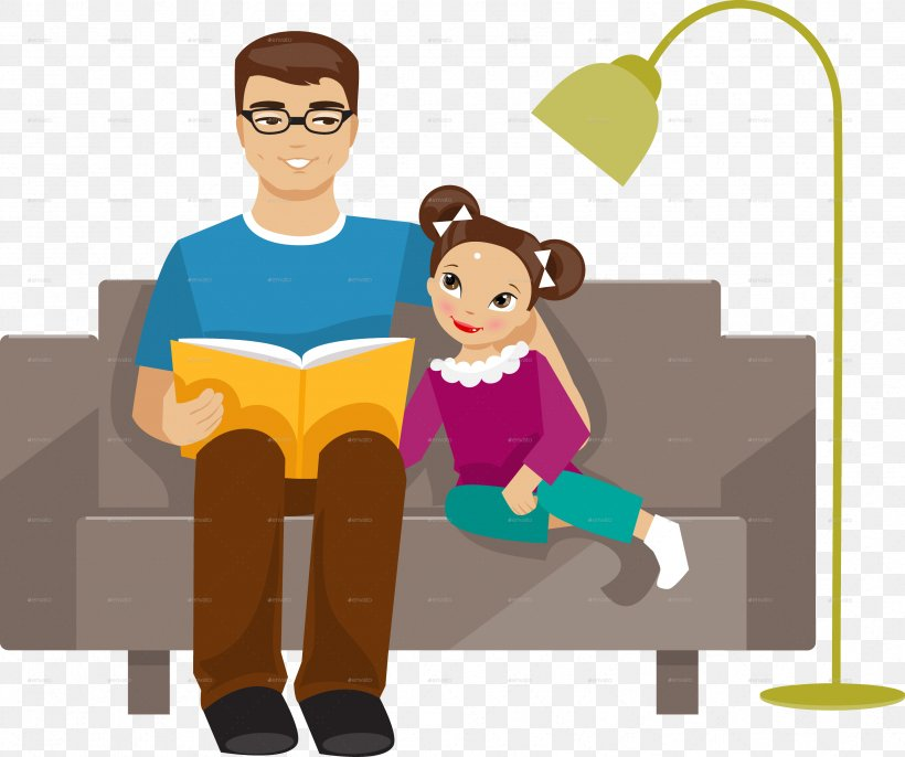 Father Daughter Clip Art, PNG, 3391x2838px, Father, Cartoon.