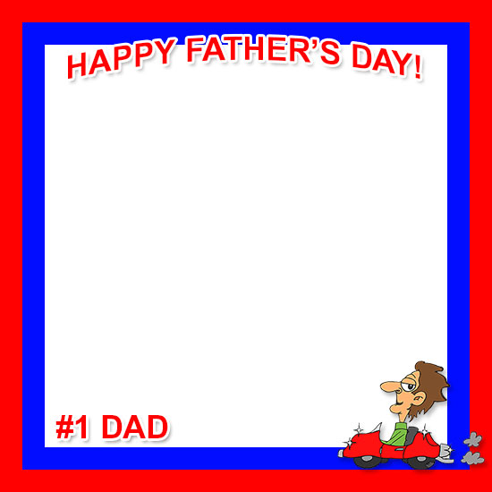 Father's Day Border Clipart.