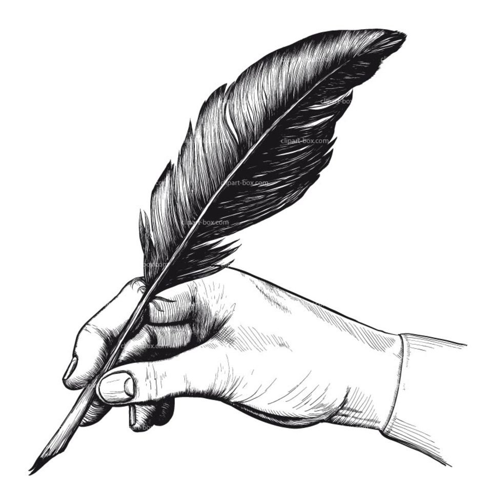 Feather Pen Clip Art N7 free image.