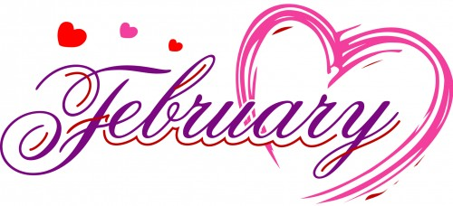 64 Free February Clipart.