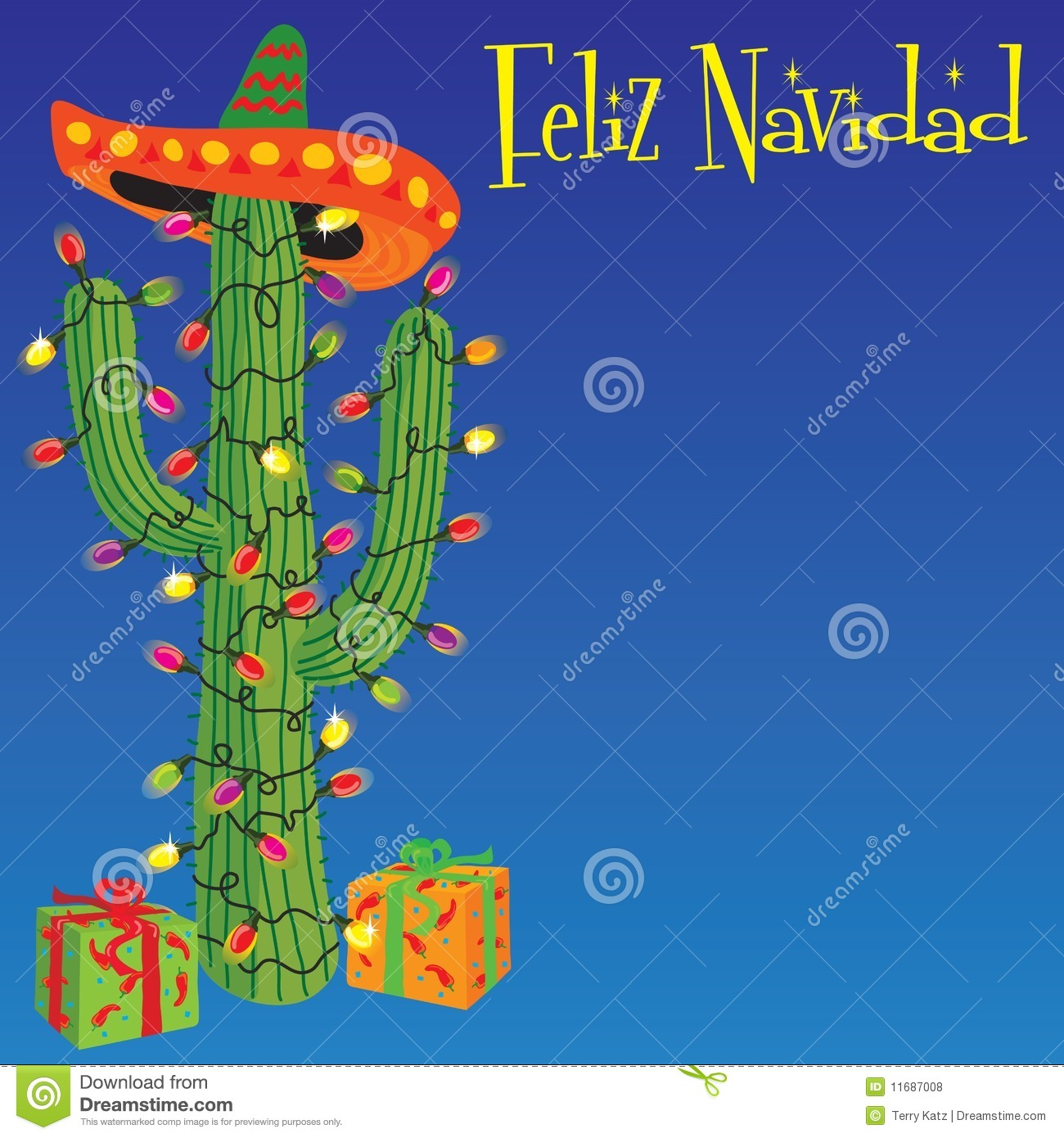 Free Feliz Navidad Clipart.