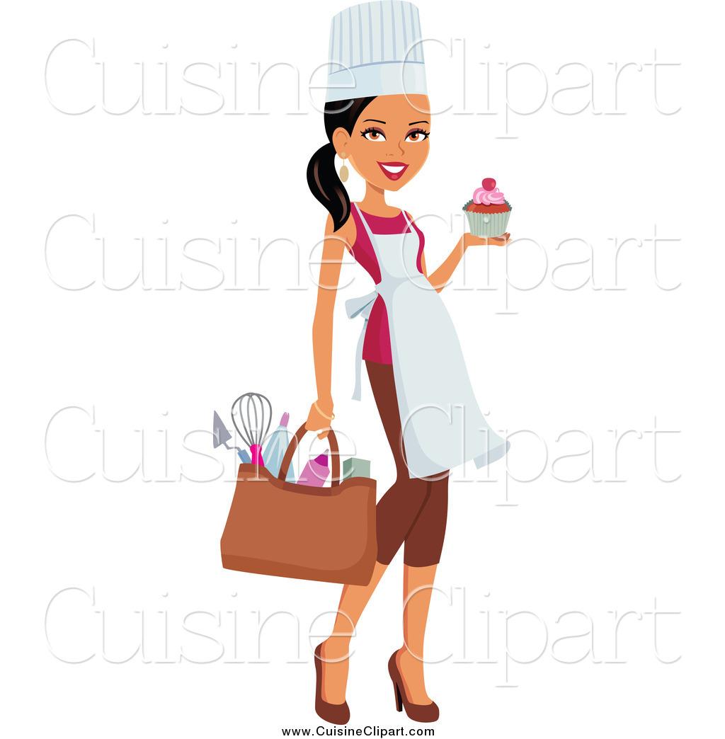 20+ Female Chef Clipart.