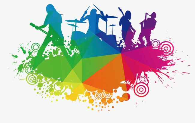 Strawberry music festival PNG clipart.
