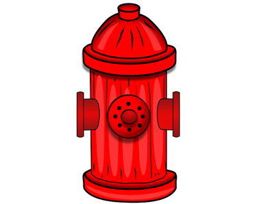 Fire hydrant,Clip art #4560098.