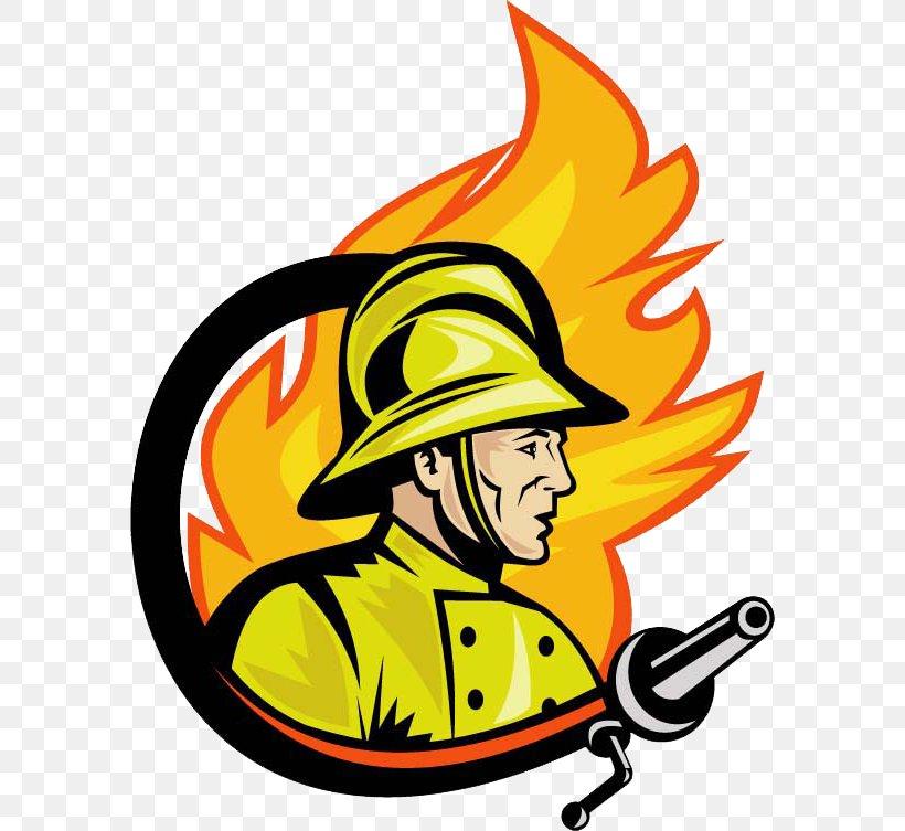 Firefighter Fire Department Logo Royalty.