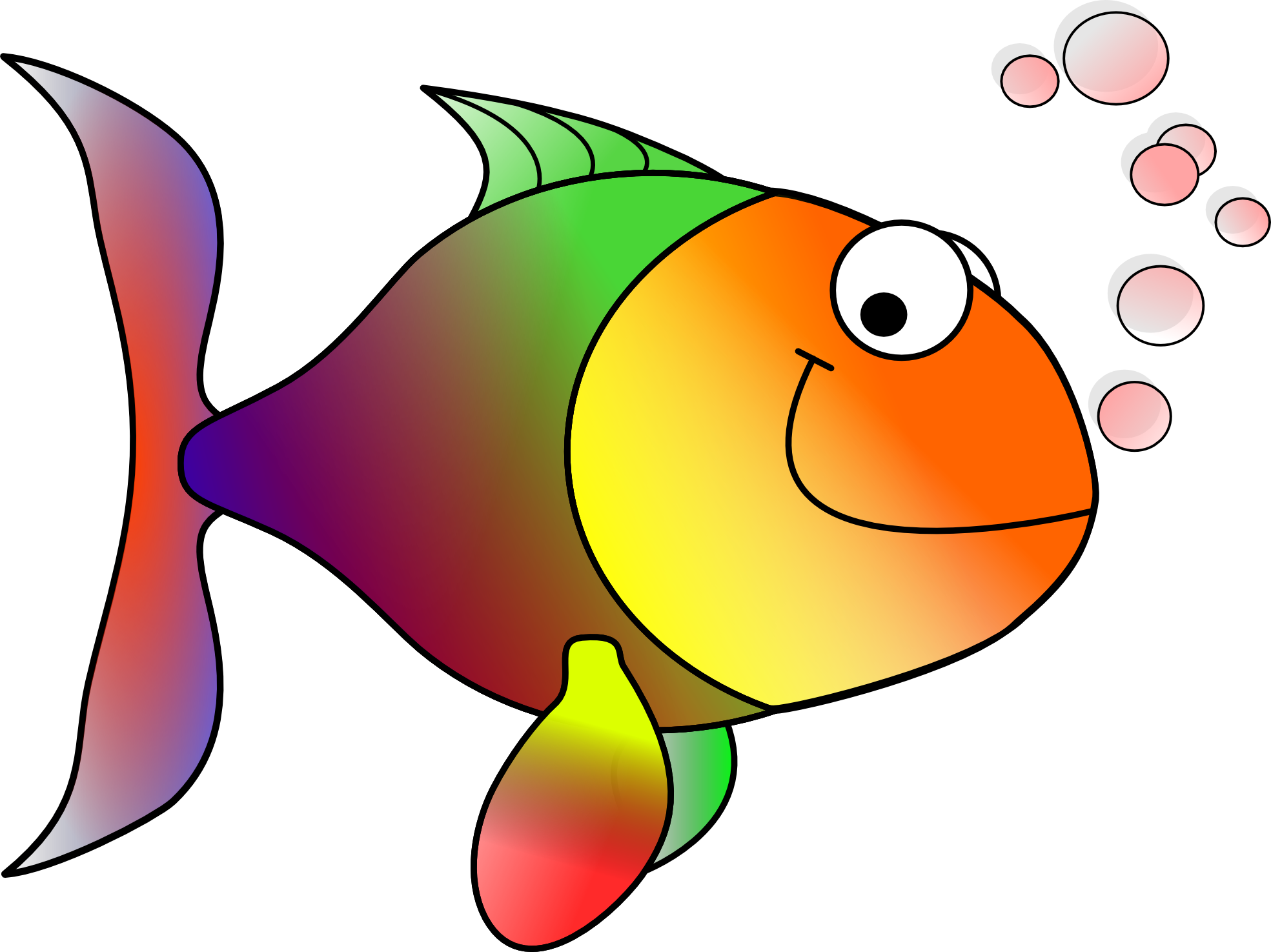 Clipart Of Fish, Contract And Fishing.