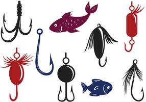 Fishing Lure Free Vector Art.