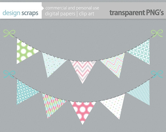 Bunting Clipart Free.