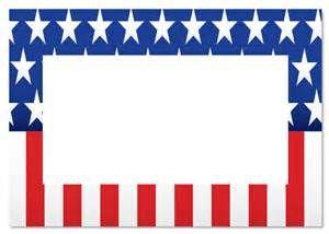 Veterans Day Clipart Border.