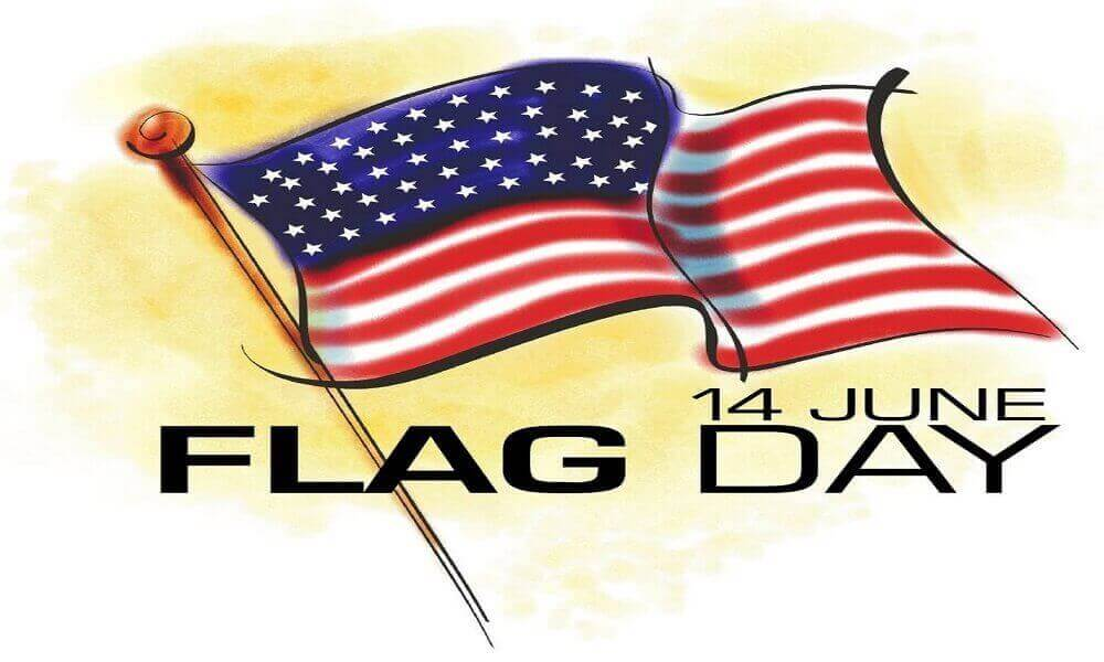 Free Printable Flag Day Coloring Pages.