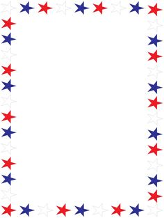 free flag day clipart border - Clipground