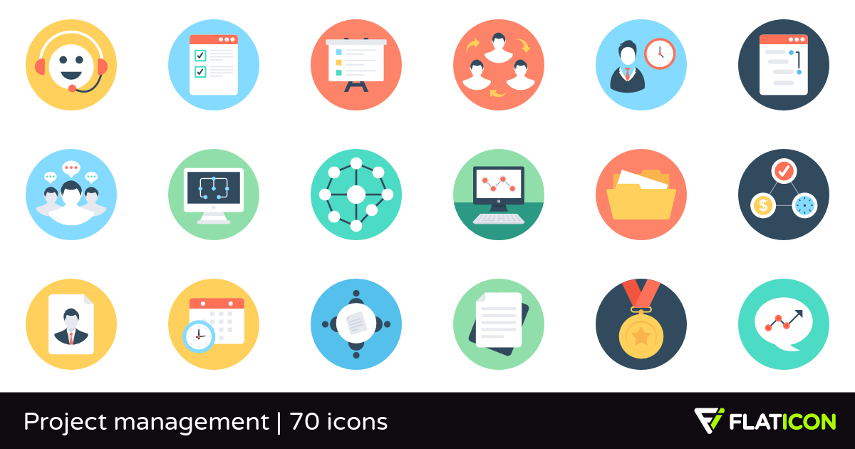 project management icon.