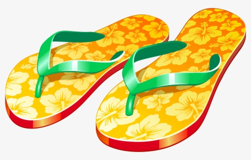 Free Flip Flops Clip Art with No Background.