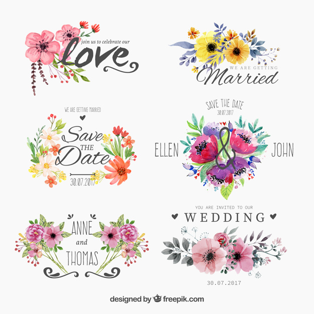 Free Floral Clipart Designs.