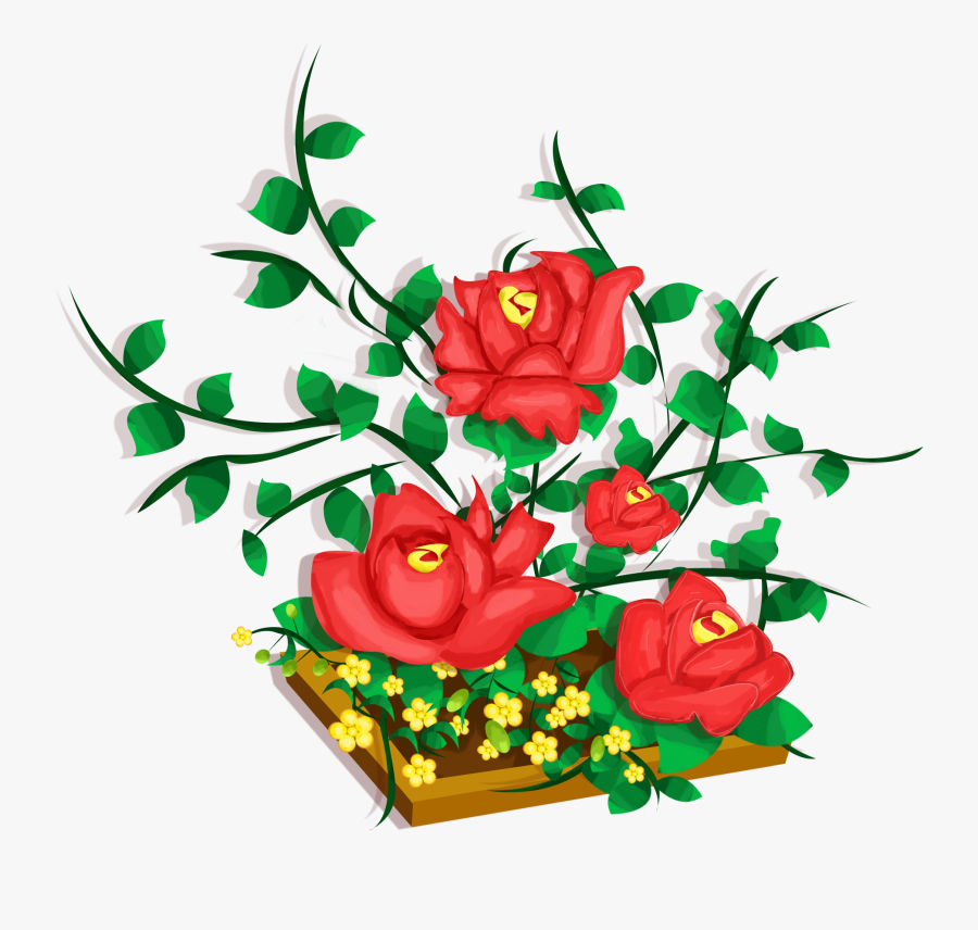 Transparent Free Floral Clipart Designs.