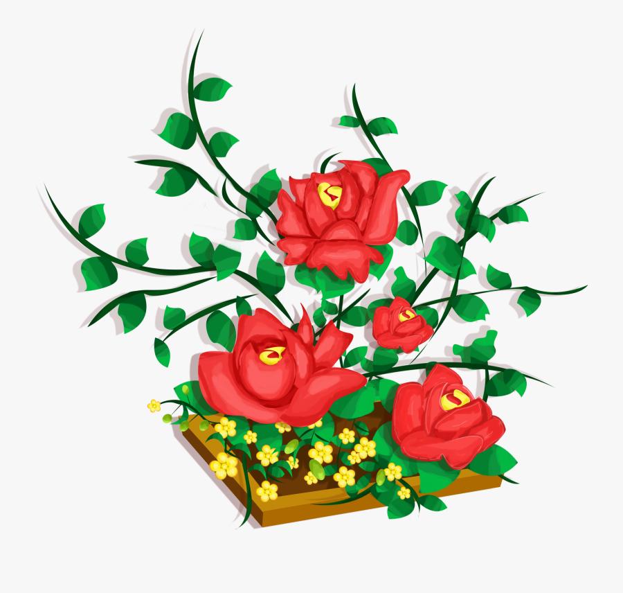 Transparent Free Floral Clipart Designs.