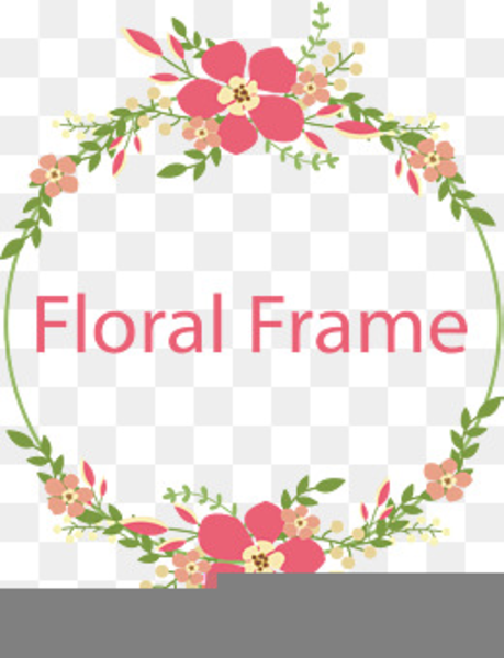 Free Floral Border Clipart.