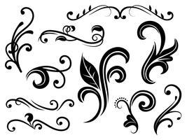 Flourish Free Vector Art.