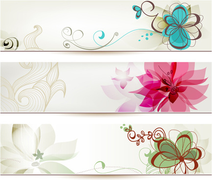Flower banner free vector download (16,563 Free vector) for.