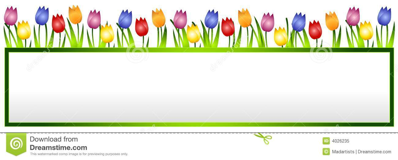 Free Flower Banner.