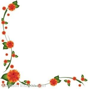 These free Flowers fruit and flower clip art and border.
