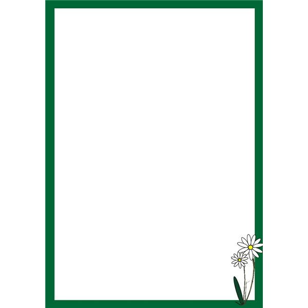 free flower borders for word document - Clipground Fancy Corner Border Vector