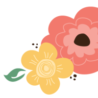 Free Vintage Flowers Clipart for Commercial Use.