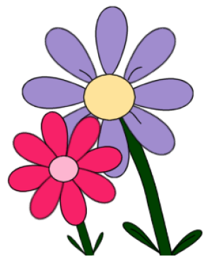Free flower clip art for all your projects.