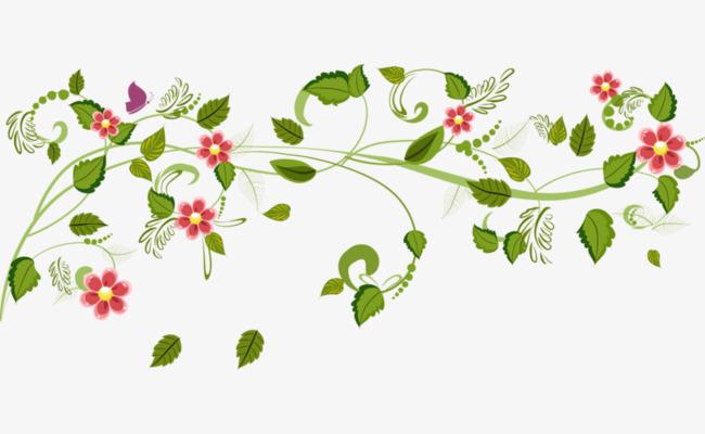 Spring clip art vine.