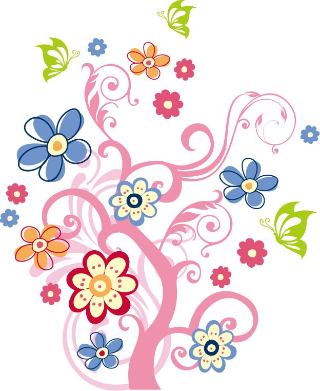 Flowers Graphic.