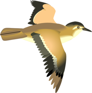 Flying Bird Clip Art at Clker.com.